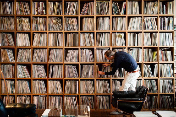 Salas audiofilas Record-collection